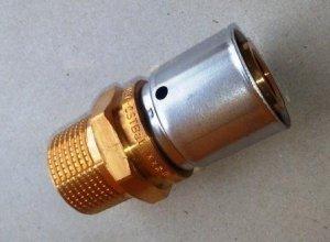 Oventrop Cofit P Złączka zaprasowywana 20x1/2 GZ Pex nypel
