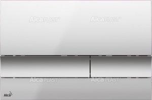 Alcaplast M1722 przycisk spłukujący WC chrom mat