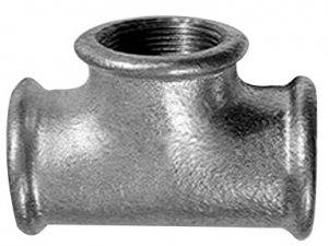 Trójnik Ocynkowany 1/2 cala żeliwny