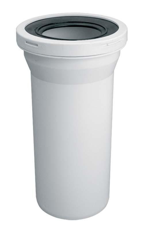Przyłącze elastyczne WC rura prosta kanalizacyjne 110 mm