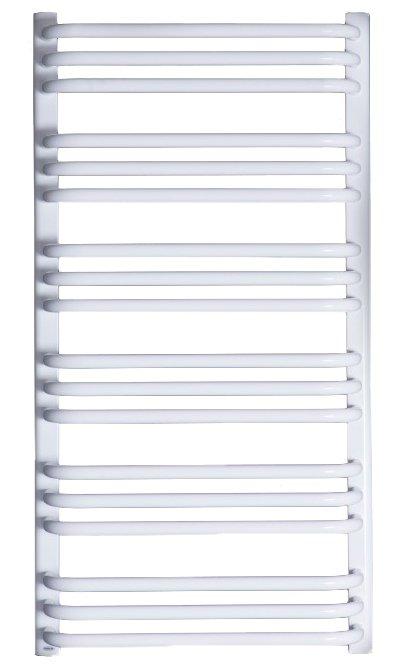 Grzejnik łazienkowy Enix AT 550x1216 drabinka biała