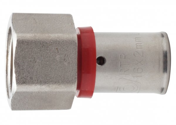 Złączka Zaciskana Pex 25x1/2 GW zaprasowywana mocna