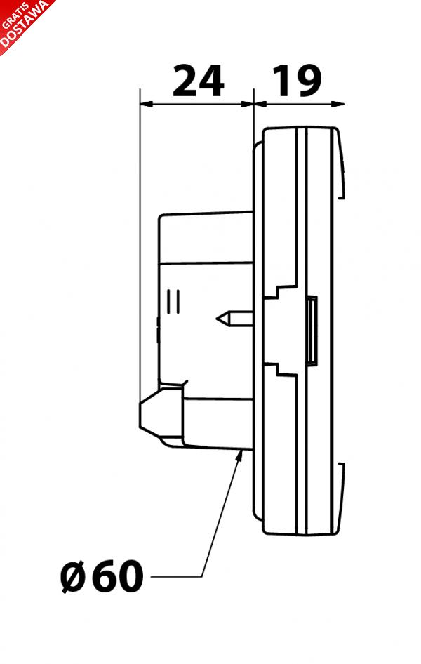Tech ST-16S Wifi moduł do sterowania grzejnikami przez internet