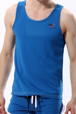 WJ 404 Blue Tank Top