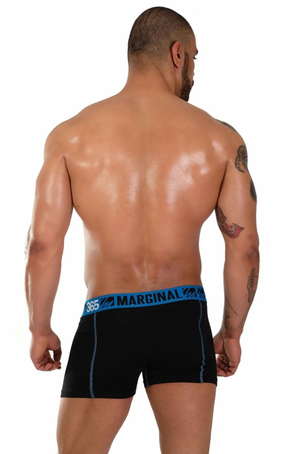 Boxerky MARGINAL 365 Black+Blue