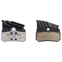 Okładziny hamulca tarczowego Shimano N04C metaliczne/radiator
