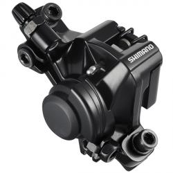 Zacisk hamulca tarczowego Shimano BR-M375 mechaniczny przód/tył czarny