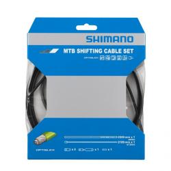 Linka przerzutki Shimano MTB Optislick Pancerz Czarny