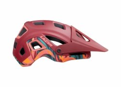 Kask Lazer Impala Matte Red Rainforest roz.L