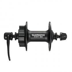 Piasta Przód Shimano HB-M475 36H Czarna 6 Śrub