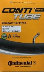 Dętka Continental Compact 10/11/12 AV45°  [44-194-|}62-222]