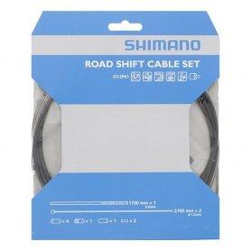 Zestaw szosowy Shimano linek przerzutki nierdzewna OT-SP41