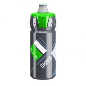 Bidon Elite Ombra Szary - Zielona Grafika 550ml