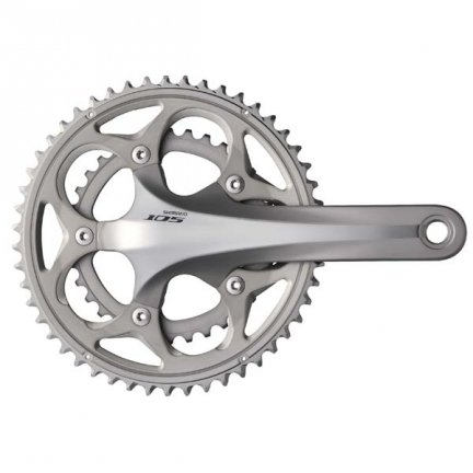 Mechanizm korbowy Shimano 105 FC-5750 50x34T 175mm HII srebrny