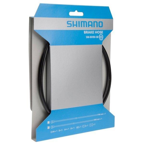 Przewód hamulca hydraulicznego Shimano SM-BH90-SBS przód 1000mm czarny
