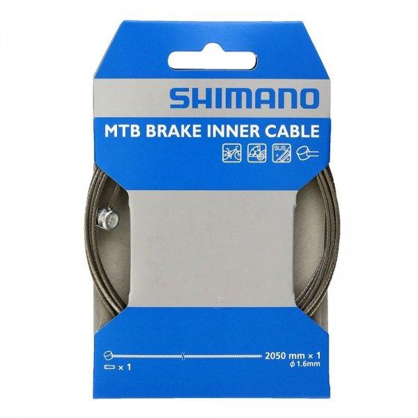 Linka hamulca MTB Shimano nierdzewna 1.6x2050mm
