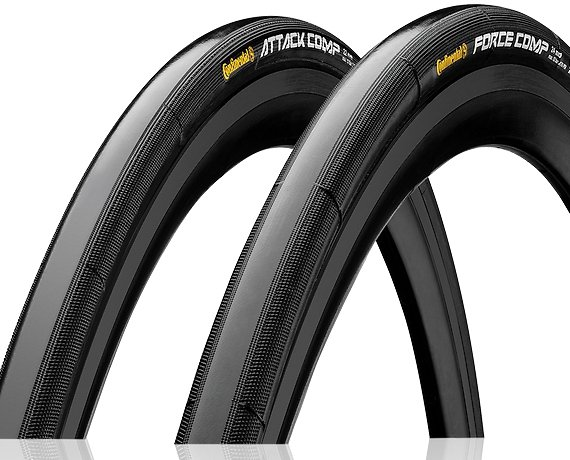 Szytki Continental Grand Prix Attack+Force Comp 22/24C Vectran