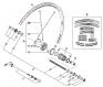 Szprycha Shimano 276mm do WH-R561-R prawa