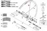 Szprycha Shimano 265mm do koła WH-7700-R 650C lewa/prawa