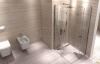 Rea - Kabina prysznicowa DOUBLE MYSPACE N z podwójnymi drzwiami składanymi