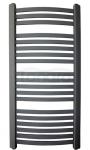 GAMABIK - Grzejnik łazienkowy KUMIKO 1350/440 ANTRACYT moc 518W