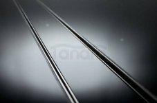 BWTECH - Odpływ liniowy szklany NEMO Szkło Czarne