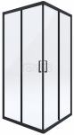 DEANTE - Kabina FUNKIA 80x80 Nero kwadratowa