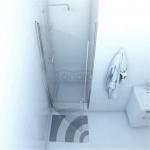 DUSO - Drzwi wnękowe uchylne pojedyncze 80x195  DS201T