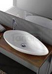 CeraStyle - Umywalka nablatowa OLIVE ceramiczna
