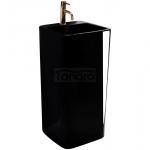 REA - umywalka MIA wolnostojąca BLACK czarna