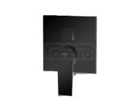 VEDO - bateria wannowo-natryskowa podtynkowa SETTE NERO 3 wyjścia VBS7017CZ