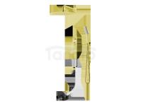 VEDO - Zestaw wannowo-natryskowy podtynkowy II DESSO ORO złoto deszczownica 250mm  VBD4232/25/ZL