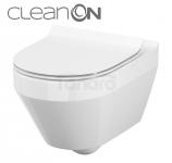 CERSANIT - Zestaw misa WC z deską duroplast CREA CleanOn S701-212