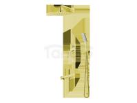 VEDO - Zestaw wannowo-natryskowy podtynkowy I DESSO ORO złoto deszczownica 300mm  VBD4231/30/ZL