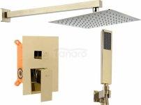 REA - Zestaw prysznicowy podatkowy FENIX BOX Gold/Złoty