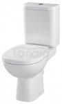 CERSANIT - WC Kompakt FACILE z Deską antybakteryjną, duroplastową, wolnoopadającą K30-008