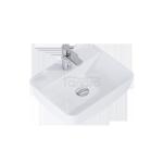 ELITA Umywalka ceramiczna nablatowa ENZO 51x14x40 145082