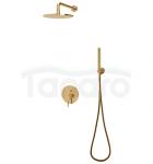 OMNIRES- Zestaw natryskowy podtynkowy złoto/gold SYSY19GL Y