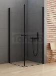 NEW TRENDY Kabina prysznicowa prostokątna NEW SOLEO BLACK 90x100x195 D-0231A/D-0232A