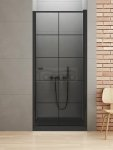 NEW TRENDY - Drzwi wnękowe New Soleo BLACK  80x195  D-0276A
