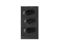 VEDO - Bateria termostatyczna podtynkowa 3 wyjścia ROUND III  6730YCZ