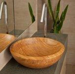 VELDMAN - Umywalka bambusowa ADRIA Rozmiary