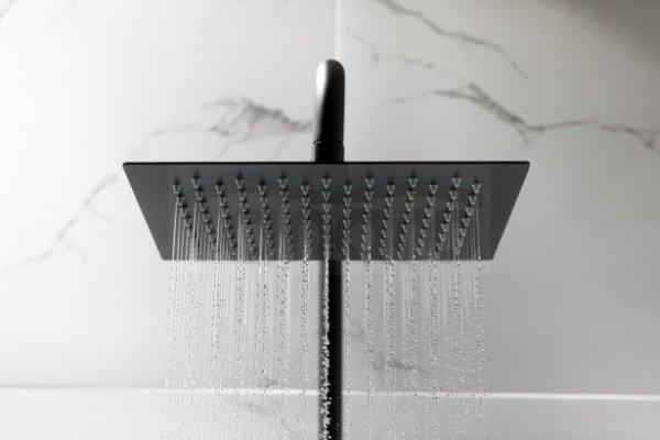 ARMATURA KRAKÓW KFA Zestaw prysznicowy z baterią termostatyczną LOGON BLACK PREMIUM 5746-920-81