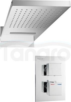 ARMATURA KRAKÓW - deszczownia / deszczownica kaskada CASSINI z baterią termostatyczną podtynkową 842-811-00