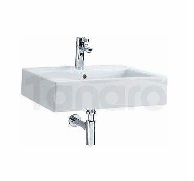 Koło - Umywalka TWINS z przelewem prostokątna L51150