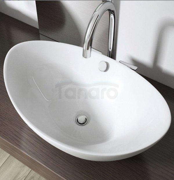 REA - Umywalka ceramiczna Wendy N  nablatowa