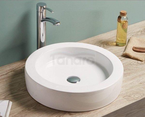 REA - Umywalka stawiana na blacie ceramiczna INDIGO Premium