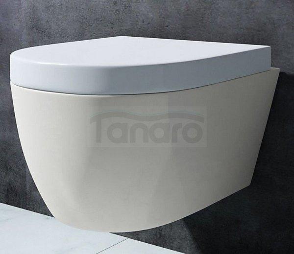 REA- Misa WC Carlo MINI Rimless bezrantowa + deska wolnoopadająca ABS GRATIS
