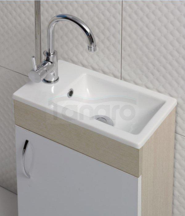 CeraStyle - Umywalka meblowa  MINI ceramiczna 40x22