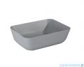 Elita Reni umywalka nablatowa ceramiczna 45x32cm Ceram Light Grey Matt 145097